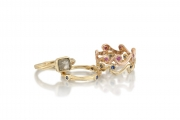 14k Gold Stackable Rings Styles
