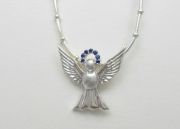 Sterling Silver Angel Pendant and Chain
