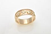 14k Gold Reef Ring