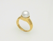 14k Gold South Sea Pearl Ring