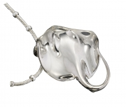 Sterling Silver Ray Pendant